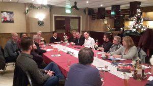 Stijn Smeulders fractievoorzitter Brabantse PvdA Statenfractie aan het woord